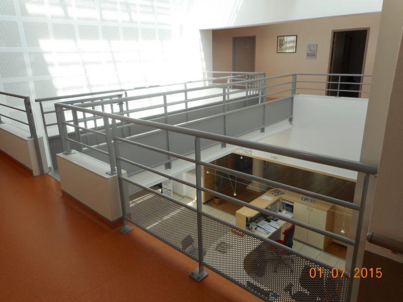 Fabrication de verri re mezzanine int rieure en m tal for Verriere metallique interieure
